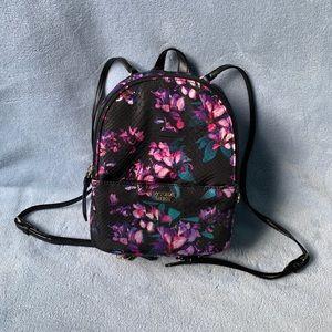 Victoria's Secret Floral Mini Backpack NWT
